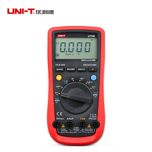 Uni t Ut108 Handheld Automotive Multi purpose Meters Voltmeter Ammeter Ac dc