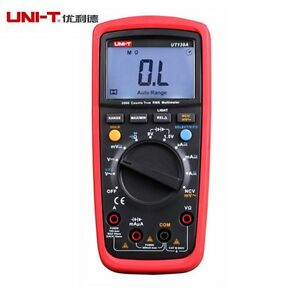 Uni t Ut139a True Rms Multimeters Over load Protection Vfc Ac dc Voltage Testers