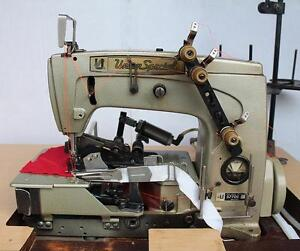Union Special 57700 R Coverstitch 2 needle Binder Industrial Sewing Machine 220v