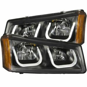 111312 Anzo Headlight Lamp Driver Passenger Side New For