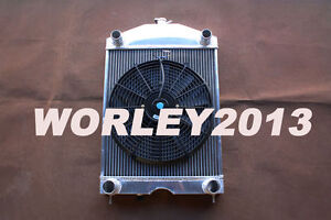 Aluminum Radiator Fan For Ford 2n 8n 9n Tractor W Flathead V8 Engine Mt
