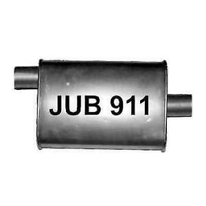 Jones Exhaust Jub911 Quiet Tone 18 Length 4 X 9 Oval Heavy Duty Turbo Muffler