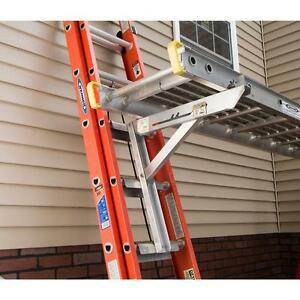 Werner Ac10 20 03 3 Rung Aluminum Ladder Jacks For Stages