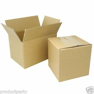 Lot Of 20 Small 7x5x4 Boxes Bulk Quality Cardboard Shipping Box Usps Ups Mail