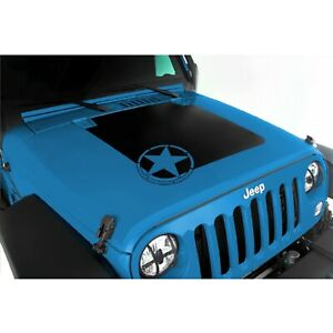 Rugged Ridge 12300 15 Vinyl Star Hood Decal For Jeep Wrangler Jk