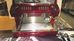 Gaggia Commercial Espresso Cappuccino Machine 2 Group New Espresso cappuccino