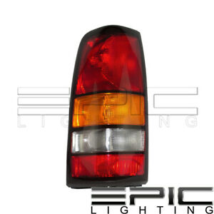 2004 2007 Gmc Sierra 1500 2500 3500 Rear Brake Tail Light Left Driver Lh