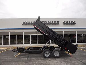 Brand New 2020 83 X 14 Dump Trailer 14 000 G v w r Quality Steel Skid Jacks