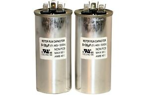 Capaca Motor Run Capacitor 5 35uf 440v For Home industrial A c 3472 Set Of 2