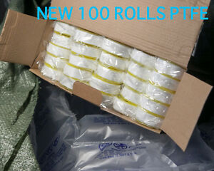 100 Rolls White Gas Teflon Ptfe Tapes 9 16 Pipe Thread Seal Plumbing Fitting