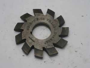 Brown Sharpe Involute Gear Tooth Cutter No 2 5 P 55 134 T D f 431