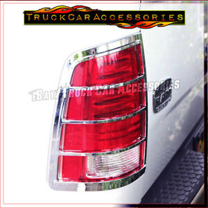 For Dodge Ram 1500 2009 2017 2500 3500 2010 2016 Chrome Taillight Light Covers