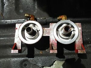 1974 International 966 Diesel Farm Tractor Dual Fuel Filter Element Housing