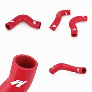 Mishimoto Mmhose fxt 04rd Red Silicone Radiator Hose Kit For 04 08 Forester Xt