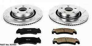 Power Stop K2194 Front Z23 Evolution 1 click Brake Kit For 05 06 Ram 1500 Srt 10