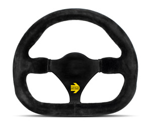 Us Dealer Momo Steering Wheel Mod 27 Black Leather Racing 290 Mm