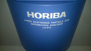 Horiba La 910 Laser Scattering Particle Size Distribution Analyzer