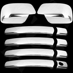 For Nissan Rogue 2008 09 10 11 12 2013 Chrome Cover 4 Door Handle
