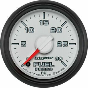 Autometer Fuel Pressure Gauge Gas New Ram Truck Dodge 2500 3500 4500 8560