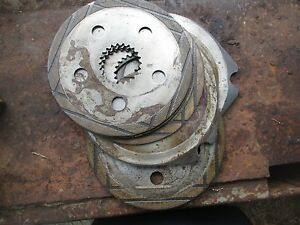 1986 Ford 4610 3 Cylinder Diesel Tractor Brakes Disc Brake Plates Free Ship