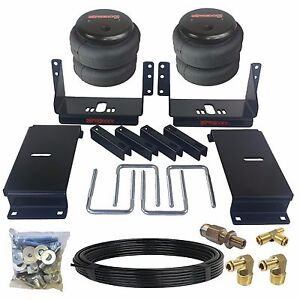 Air Tow Assist Kit Rear Axle Level For 1994 02 Dodge Ram 3500 Over Load Towing