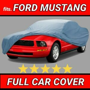 ford Mustang 2005 2006 2007 2008 2009 Car Cover Custom Fit Best