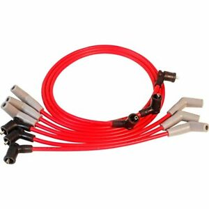 Msd Spark Plug Wires 8 5mm Red Coil Pack Stock Boots Ford Mustang3 8l V6set