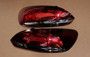 Vw Scirocco R Original R Line Cherry Red Rear Lights Darkened Taillights New