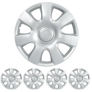 Hubcap For 15 Inch Wheel Cover Protection Durable Abs Oem Replacement 4 Piece