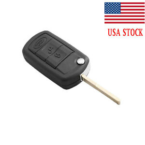 Entry Remote Fob Replacement Folding Flip Blank Key Shell Case For Land Rover