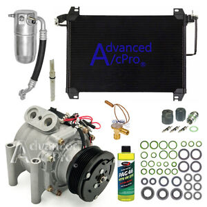 New Ac A c Compressor Kit Fits 2003 2009 Chevrolet Trailblazer Ext L6 4 2l