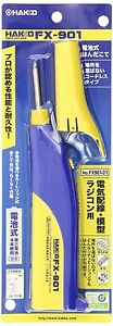 Hakko Fx 901 Cordless Soldering Iron Battery Powered Free Tracking Ship Japan