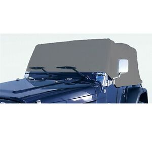 Outland 391332102 Gray Deluxe Cab Cover For Jeep Cj7 Wrangler Yj Tj