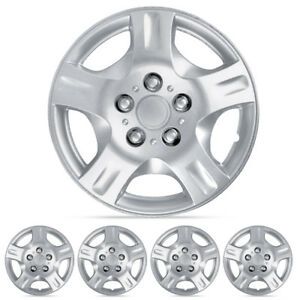 4 Pc Set 15 Inch Hubcap For Nissan Altima Replica Wheel Skin Cover