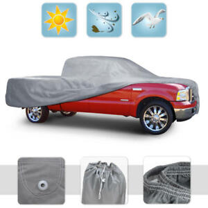 Dust Proof Pickup Truck Cover Indoor Deluxe Breathable Full Size Crew Cab