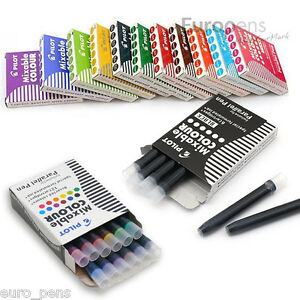 Pilot Ink Cartridges ic p3 For Parallel Calligraphy Fountain Pen pack Of 12