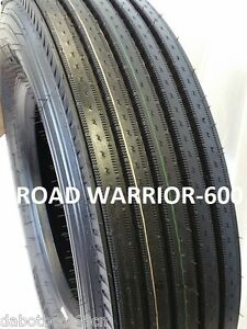 2 Tires Road Warrior 285 75r24 5 H 16 147 144m New All Position Truck Tire 600