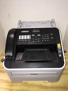 Brother Fax Machine Model 2940 Page Count Just 7 Floor Model