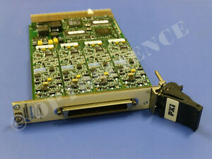 National Instruments Pxi 6120 Ni Daq Card 16bit Simultaneous Analog Input