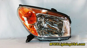 Tyc Right Side Halogen Headlight Lamp Assembly For Toyota Rav4 2004 2005