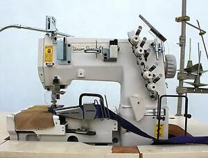 Union Special Fs322 2 needle Coverstitch Binder Industrial Sewing Machine 220v