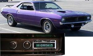 1970 Barracuda Am Fm Bluetooth New Stereo Radio Ipod Usb Aux Inputs 300 Watts
