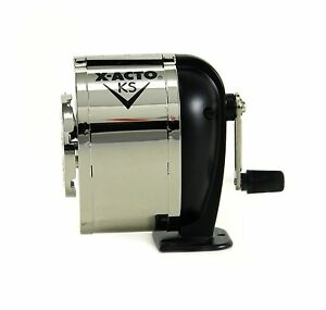 Manual Pencil Sharpener X Acto Desk Table Wall Mount Office Home School College