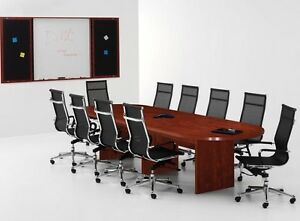 New Amber 10 Racetrack Office Conference Table For Boardroom Meeting Room