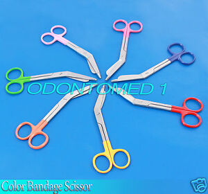 100 Pieces Bandage Scissor Mix Color Paramedic Nurses Uniform 5 50