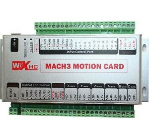 6 axis Motion Control Card Usb2 0 Interface Cnc Mach3 Usb Card Xhc mk6