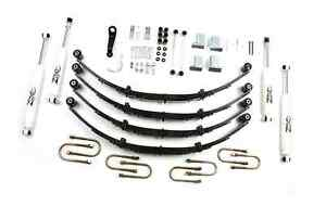 Zone Offroad J28 4 Suspension Lift Kit For 87 95 Jeep Wrangler Yj 4wd Gas