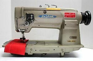 Cut line C412 Needle Feed 2 needle 1 Gauge Industrial Sewing Machine Head Only