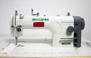 Zoje Zj8800a Plain Straight Lockstitch Reverse Industrial Sewing Machine New