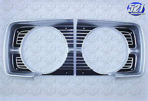 Mopar 68 1968 Dodge Dart Headlight Bezel Trim Surround Grill Bezels Pair Set New